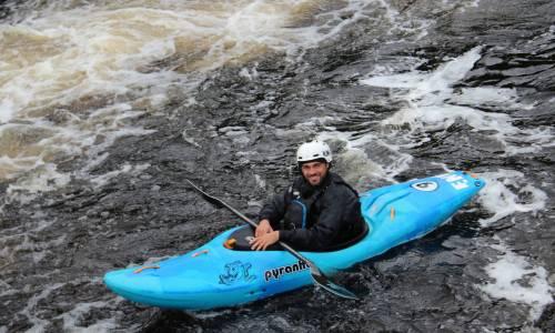 Guide en kayak